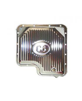 TSP_Ford_C6_Raised_Finned_Transmission_Pan_Chrome_Steel_SP7601