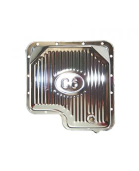 TSP_Ford_C6_Raised_Finned_High-Capacity_Transmission_Pan_Chrome_Steel_SP7601D
