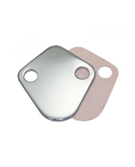 TSP_Chevy_Big_Block_Fuel_Pump_Block-Off-Plate_Chrome_Steel_SP7604