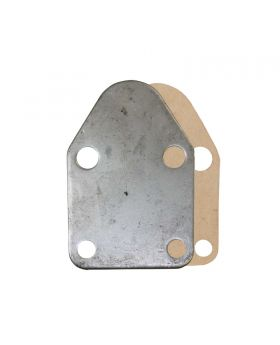 TSP_Chevy_Small_Block_Fuel_Pump_Block-Off-Plate_Unplated_Steel_SP7605X