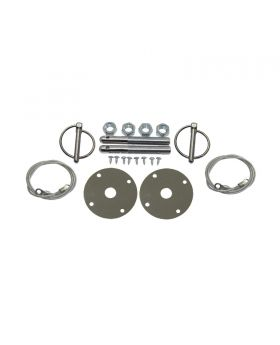 TSP_4x0.5_3-16_Torsion_Clips_Hood_Pin_Kit_With_Lanyards_SP7701