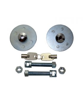 TSP_Universal_Hood_Lock_Kit_Chrome_Steel_SP7709