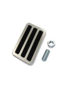 TSP_4.25x2.5_Brake_Pedal_Pad_Polished_Aluminum_SP8213