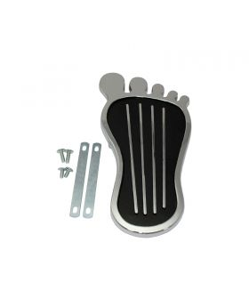 TSP_4-1-8x9_Barefoot_Gas_Pedal_Pad_Chrome_Alloy_SP8220