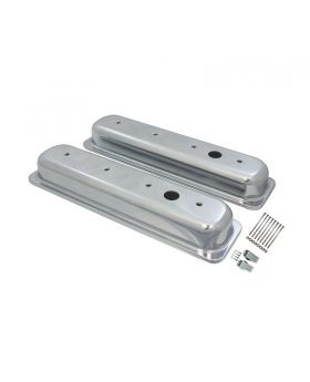 TSP_Chevy_Small_Block_Center-Bolt_Short_Valve_Covers_Polished_Smooth_Aluminum_SP8467