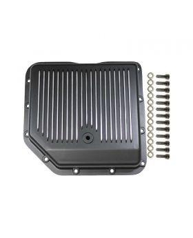 TSP_GM_TH350_Transmission_Pan_Black_Finned_Aluminum_SP8491BK