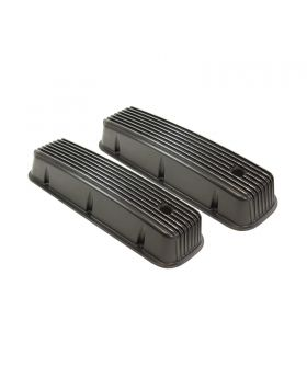 TSP_Chevy_Big_Block_Center-Bolt_Tall_Valve_Covers_Smooth_Black_Aluminum_SP8530BK