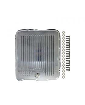 TSP_GM_700R4_4L60_Transmission_Pan_Finned_Polished_Aluminum_SP8594