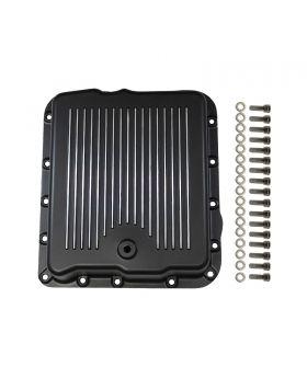 TSP_GM_700R4_4L60_Transmission_Pan_Finned_Black_Aluminum_SP8594BK