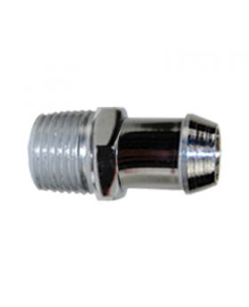TSP_1_2_NPT_To_5_8_Hose_Barb_Heater_Hose_Fitting_Chrome_Steel_SP9124