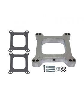 TSP_1_Aluminum_Square_Bore_4BBL_Carburetor_Spacer_Kit_SP9131