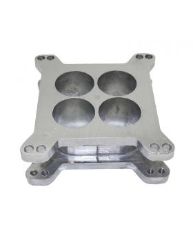 TSP_2_Aluminum_4-Hole_4BBL_Carburetor_Spacer_SP9133S