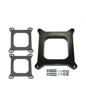 TSP_1_Phenolic_Square_Bore_4BBL_Carburetor_Spacer_Kit_SP9136