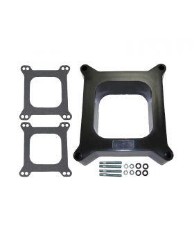 TSP_2_Phenolic_Square_Bore_4BBL_Carburetor_Spacer_Kit_SP9137