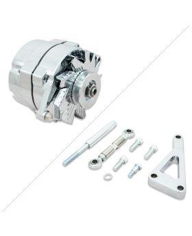 GM 10SI Style Performance Alternator and Bracket Kit